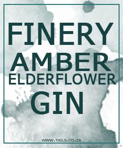 Finery Amber Elderflower Gin - tails.co.za